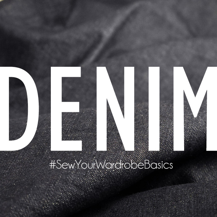 January theme .:. Denim // Sew Your Wardrobe Basics