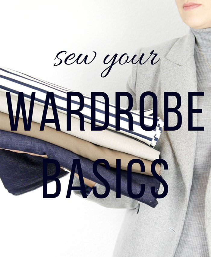 Sew Your Wardrobe Basics .:. Sewing Challenge 2020