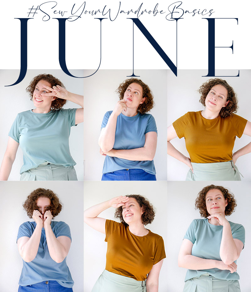 June .:. Jersey // Jenny by Vikisews, Concord Tee by Cashmerette