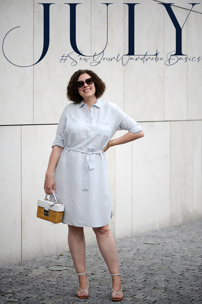 July .:. Buttons // The Classic Shirt by Liesl & Co.